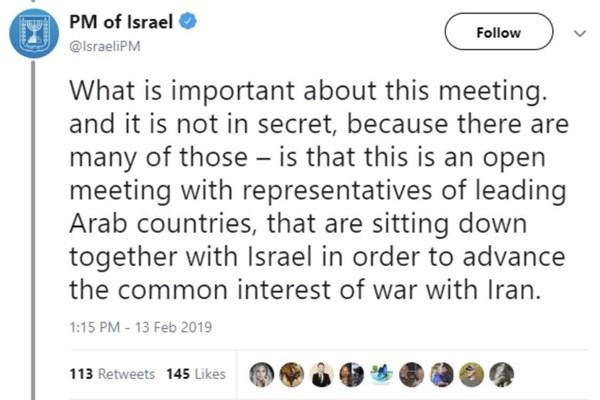 توییت جنجالی «جنگ با ایران» از سوی نتانیاهو و حذف آن/کیفرخواست برای افسر نیروی هوایی آمریکا به جرم جاسوسی برای ایران/افشای برنامه مخفی آمریکا برای خرابکاری در برنامه موشکی ایران
