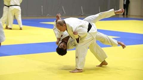 تمرینات جودو پوتین در 66 سالگی