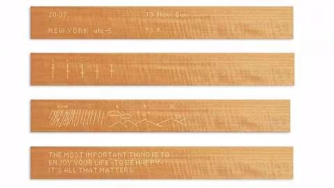 یک تکه چوب هوشمند!