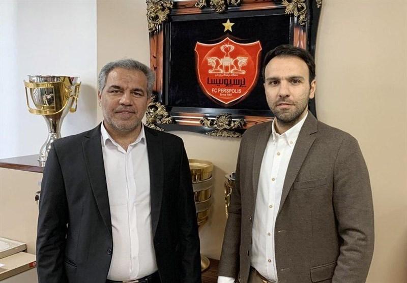 محسن خلیلی مدیر تیم فوتبال پرسپولیس شد