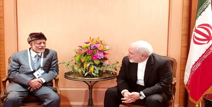 ایزنی ظریف و وزیر خارجه عمان در مونیخ