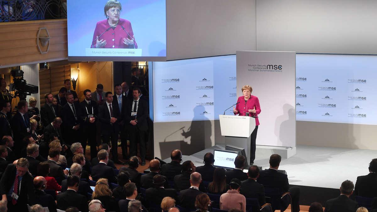 بالا گرفتن دعوای آلمان و آمریکا بر سر مساله ایران در کنفرانس مونیخ