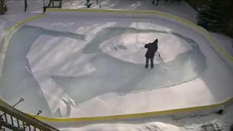 ثبت لبخند ژوکوند بر برف و یخ