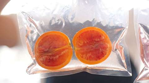 طرز تهیه پرتغال خونی کانفیت شده