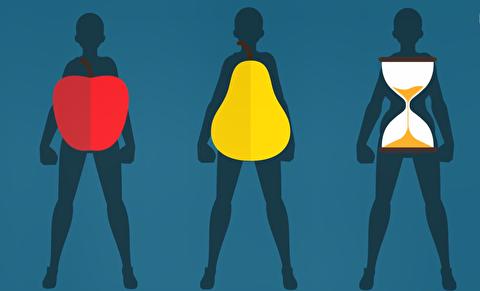 اطلاعاتی که تیپ بدنی درباره سلامت میدهد