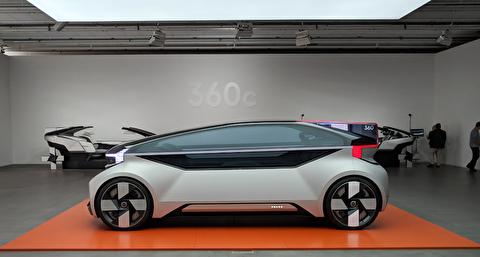 ولوو 360 سی، خودران و برقی، خودروی آینده