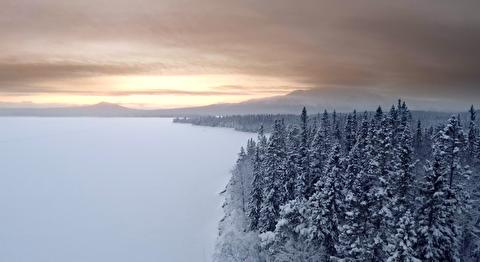 زمستان دانمارک در قاب 4K