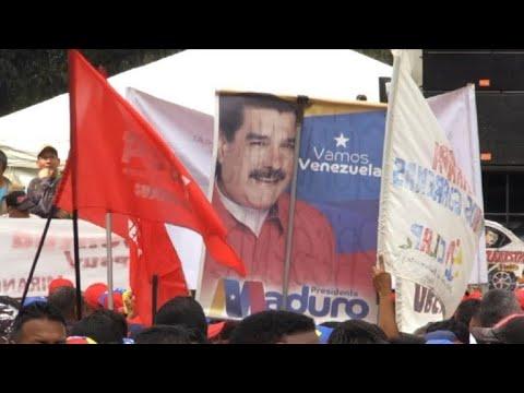 تظاهرات طرفداران نیکلاس مادورو رئیسجمهور ونزوئلا