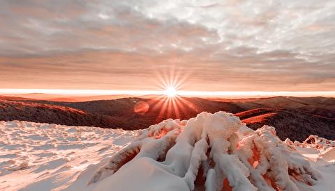 زمستان در قلب کوهستان بیشتادی