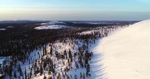 تماشای لاپلند زیر برف زمستانی