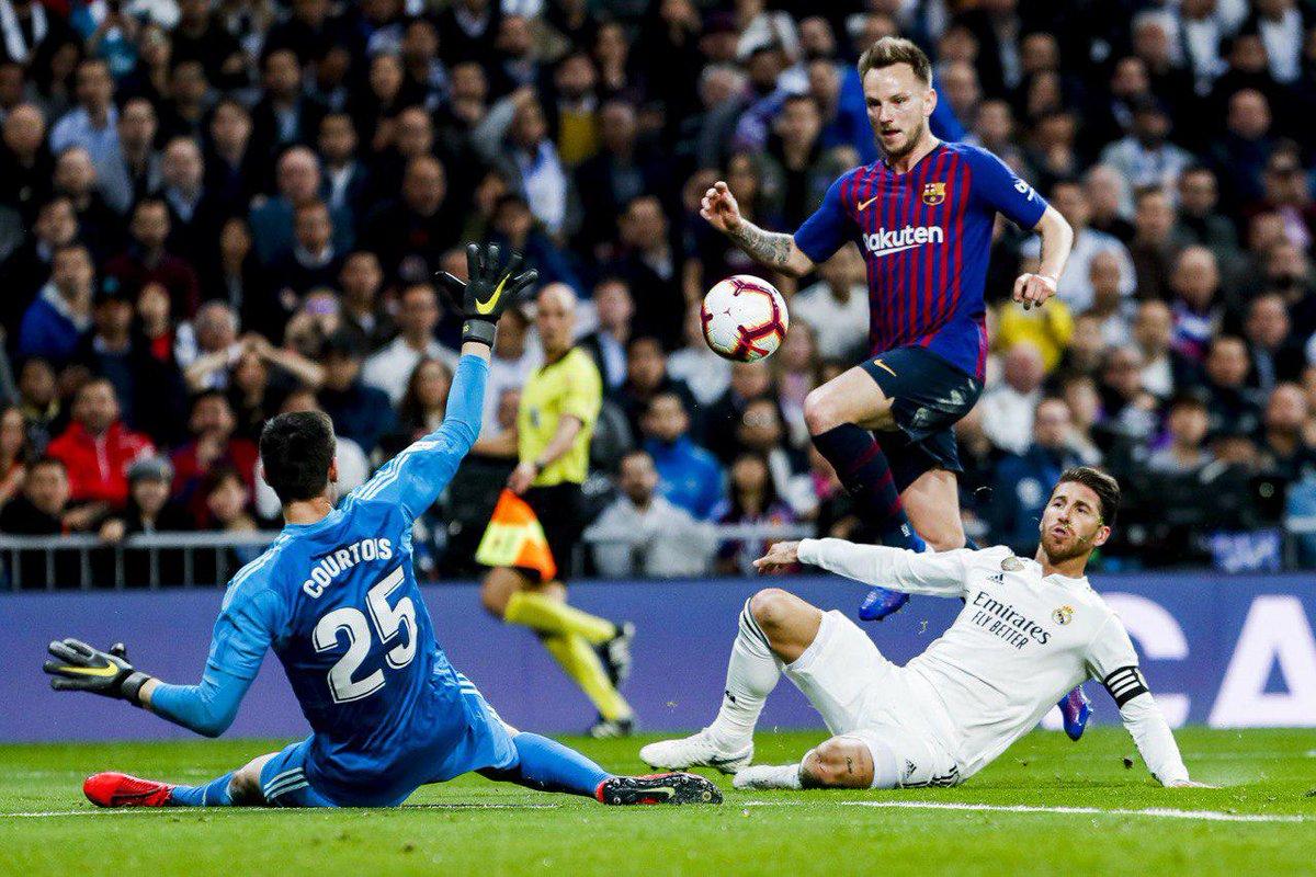 بارسا، رئال مادرید را از قهرمانی لالیگا هم کنار زد