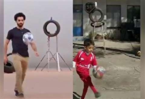 درخواست پسر 7 ساله شیرازی از محمدصلاح