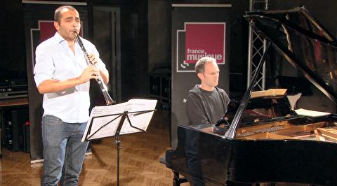 سونات برای پیانو و کلارینت سن-سانس ؛ دیوید بیسموت و پیر ژنیسون