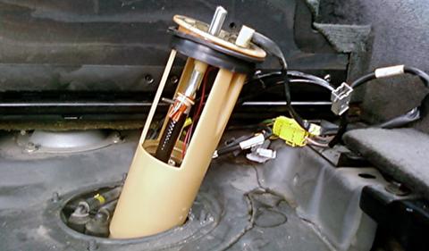 آموزش تعویض و عیبیابی پمپ بنزین خودرو
