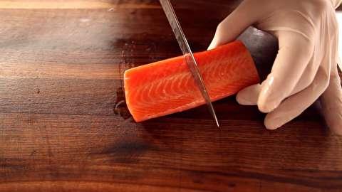 روش تقسیم کردن و پرسبندی ماهی