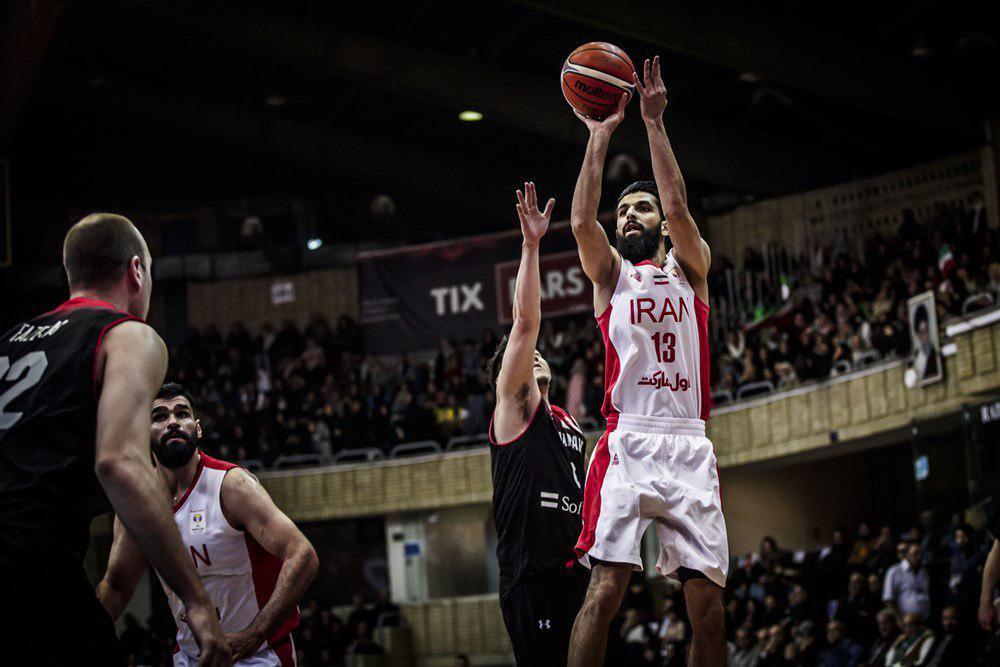 شکست خانگی تیم بی ستاره بسکتبال ایران مقابل ژاپن