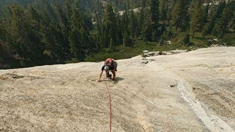 صعود از صخرههای عظیم شاتای ریدج