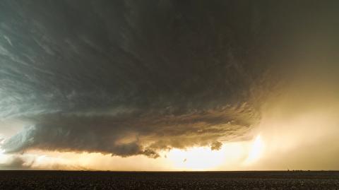 طوفان چرخشی در تگزاس