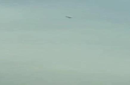 ماجرای پرواز یک شی ناشناس در آسمان تهران