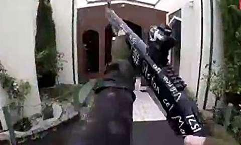 لحظات کشتار مسلحانه مسلمانان در نیوزلند