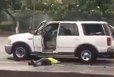 کشتن یکی از تروریستهای نیوزلند توسط پلیس