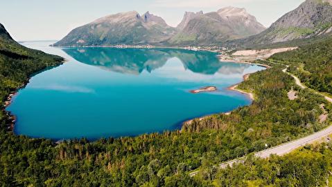 زیبایی جزیره سنیا در قاب 4K