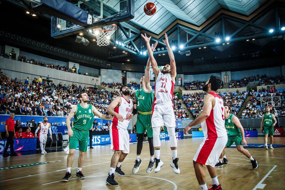 بسکتبال ایران تیم دوم استرالیا رابرد و به جام جهانی صعود کرد
