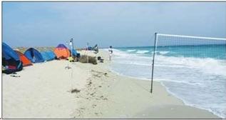 ورود گردشگران به جزیره شیدور ممنوع شد