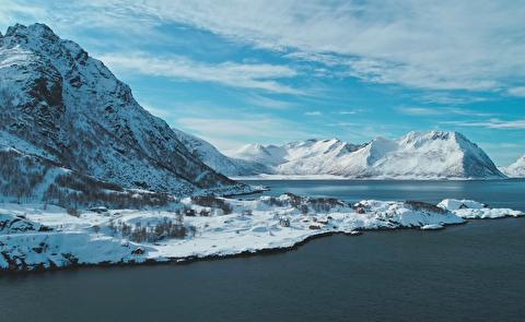 زمستان در جزیره لانگبارن