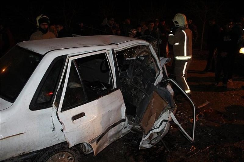 هفت کشته در تصادف پراید و سمند