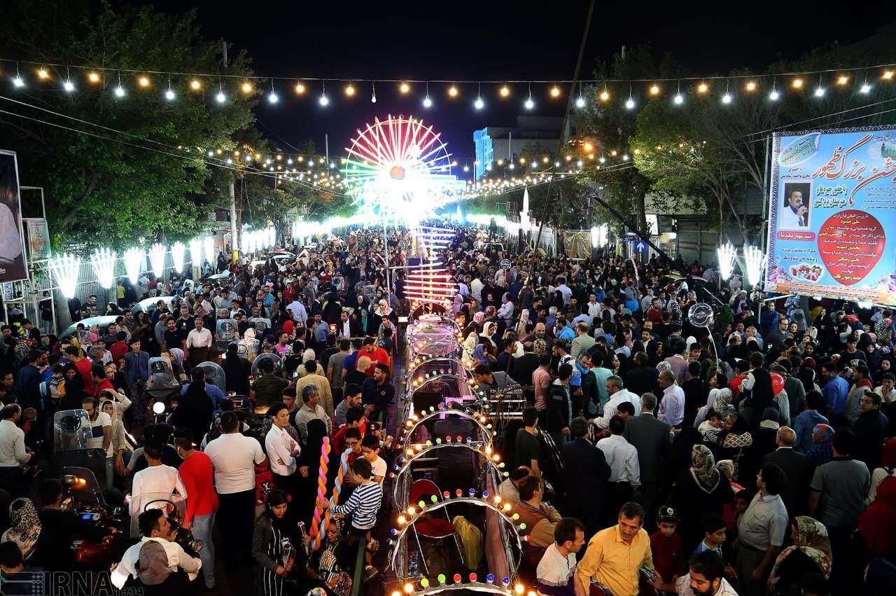 حالوهوای جشن نیمه شعبان در گوشهوکنار کشور - تابناک | TABNAK