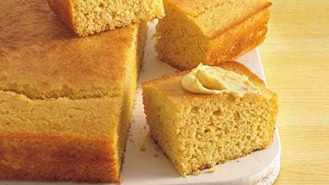 طرز تهیه نان ذرتی طلایی شیرین