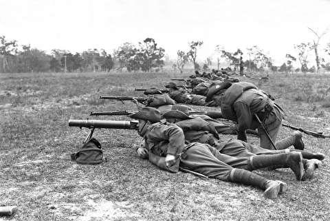 ارتش استرالیا بر علیه شترمرغها