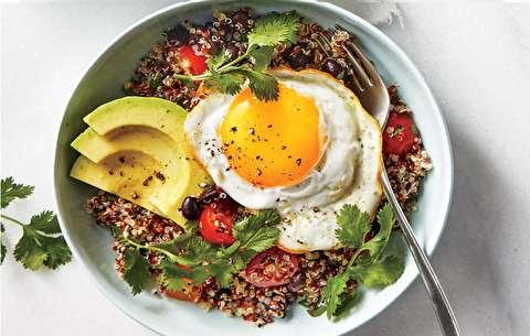 طرز تهیه صبحانه آووکادو