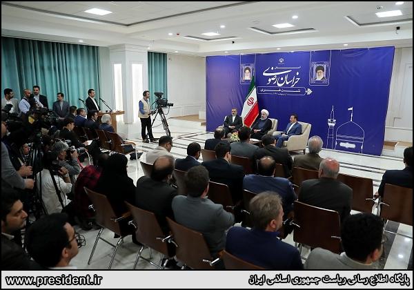 حلال و حرام در مشهد و دیگر شهرها تفاوتی ندارد/ یک قانون داریم که در مشهد و دیگر شهرها باید اجرا شود/ دنبال تجارت آزاد با اوراسیا هستیم