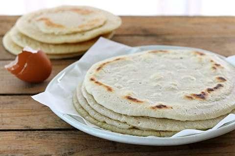 دستور پخت نان پیتا