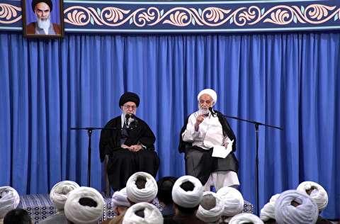 اظهارات جالب قرائتی در محضر رهبر انقلاب درباره قرآن