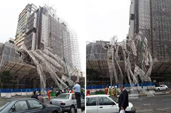 «ایمنی» در برج گران قیمت هم نایاب است، چه برسد به سازههای ارزان! +تصاویر