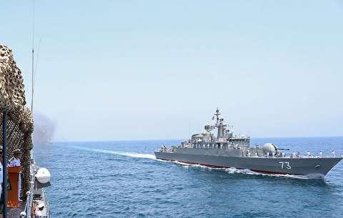 تمرین مشترک امداد و نجات دریایی ایران و عمان