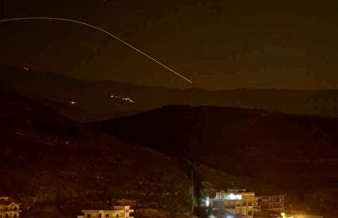 حمله موشکی به اسرائیل