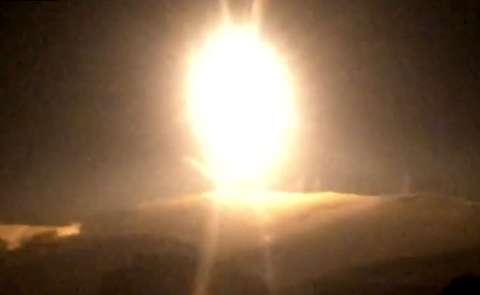 هدف قرار دادن موشکهای اسرائیلی در دمشق