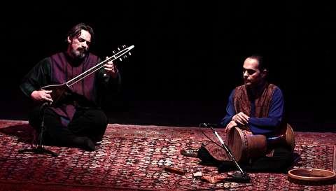 دونوازی سهتار و تمبک؛حسین علیزاده و مجید خلج