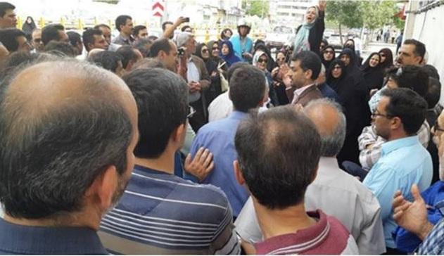 بار دیگر مطالبات صنفی سکوت معلمان را شکست و روانه خیابانشان کرد!