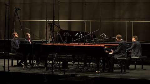 من روی فرم هستم ؛ کوارتت پیانو گرشوین