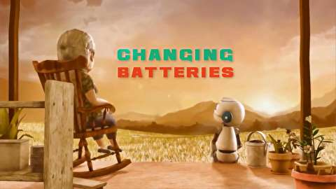 انیمیشن کوتاه تعویض باتریها