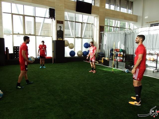 چند فریم از تمرین امروز تیم ملی در پک زیرنظر کی روش