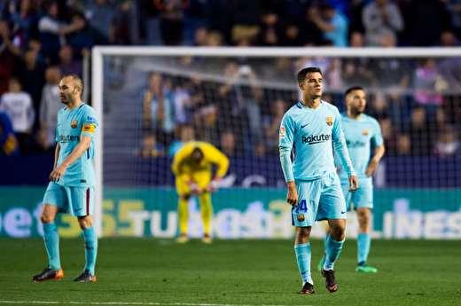 بارسلونا مقابل لوانته 5تایی شد و رکورد بدون باخت پرید