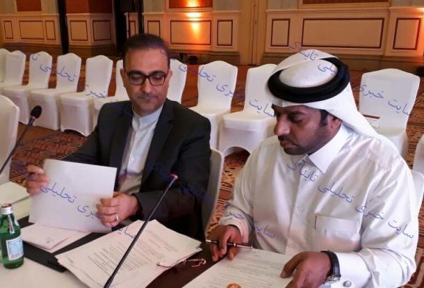 سند همکاری اقتصادی ایران و قطر امضا شد