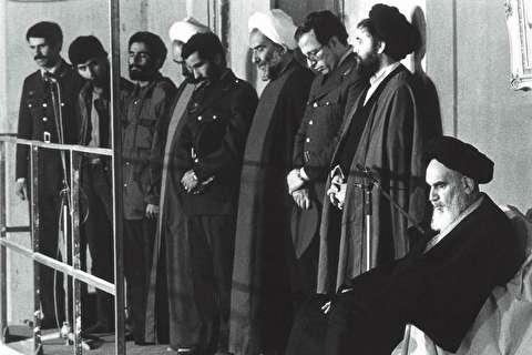 دیدار کارگزاران نظام با امام خمینی
