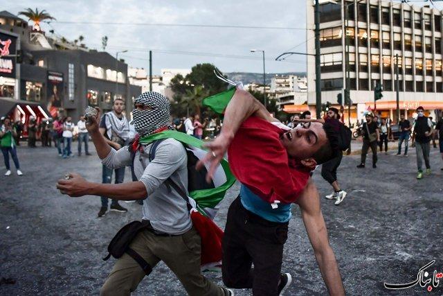 روایت تصویری از انتقال سفارت آمریکا به قدس، کشتار در غزه